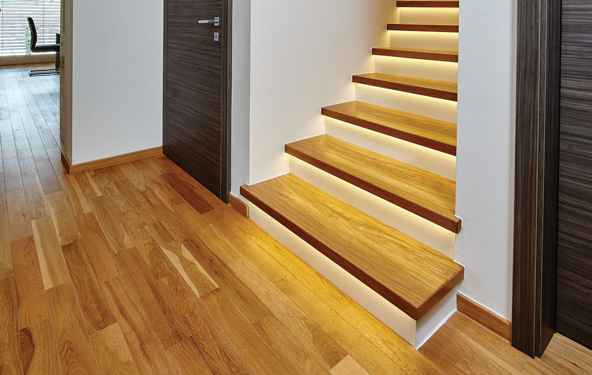 buy parquet flooring from company that specializes in rustic look
