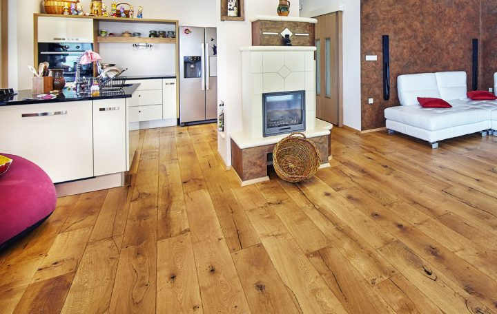 polishing and caring for parquet wood flooring