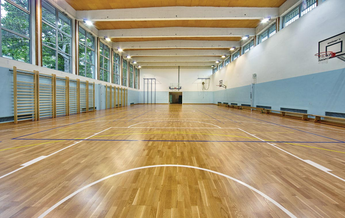 large parquet flooring for homes or sports venues